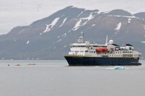Экспедиционный лайнер National Geographic Explorer прибыл в Петербург