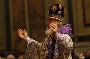 Патриарх Кирилл совершил литургию в Казанском соборе