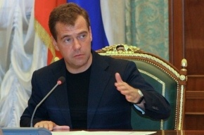 Медведев уволил Кудрина