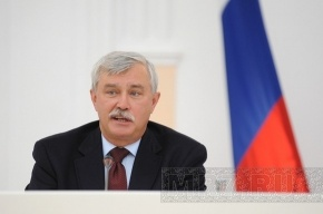 Полтавченко пообещал решить проблему с затопленным двором
