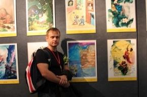 Петербургский карикатурист занял 1 место на международном конкурсе в Китае