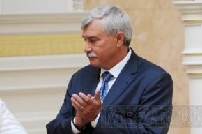 Георгий Полтавченко сходил на линейку в свою родную школу