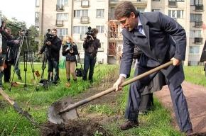 Инициативные горожане благоустроили свой кусочек Петербурга