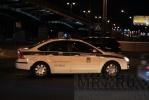 На Ушаковской развязке полиция ловила мотоциклиста: Фоторепортаж