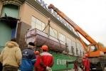 В петербургском океанариуме установили новый 7-метровый аквариум: Фоторепортаж