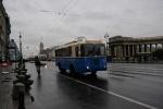 Фоторепортаж: «В Петербурге прошел парад троллейбусов (фото)»