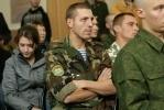 Фоторепортаж: «Первых солдат осеннего призыва проводили в армию (фото)»