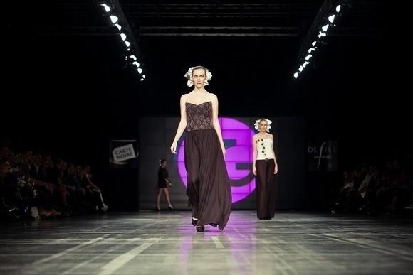Модный Дом Татьяны Гордиенко представил коллекцию весна-лето 2012: Фото
