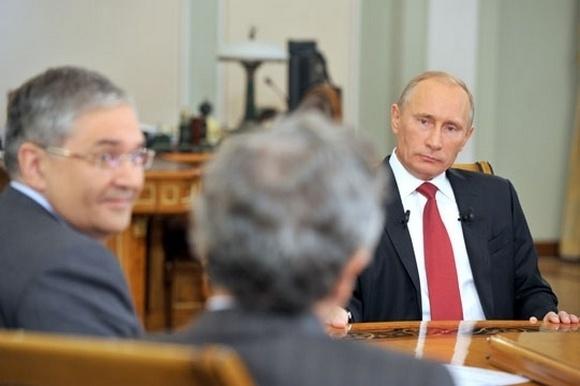 Интервью Путина государственным телеканалам: самое интересное: Фото