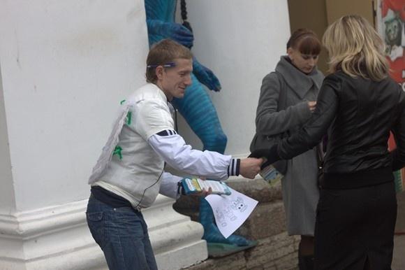 По Петербургу пролетели «Ангелы добра»: Фото