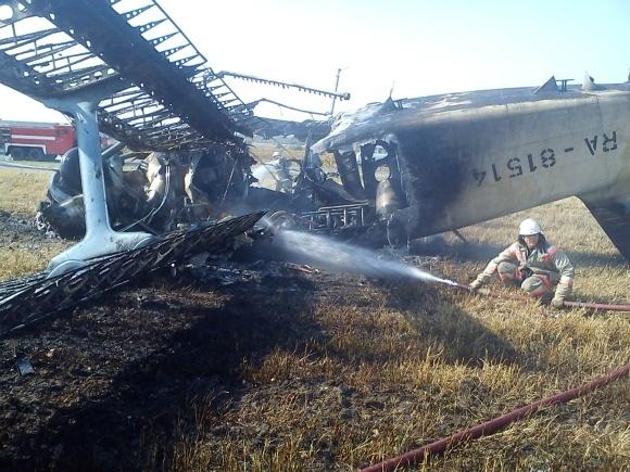На Кубани упал самолет Ан-2: Фото