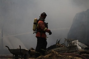 Пожар на Мориса Тореза потушили