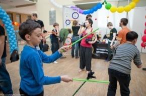 В Петербурге отмечают День жонглера