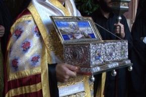 Сегодня в Петербург привезут Пояс Богородицы
