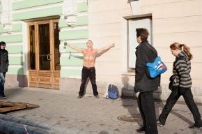 Петербуржцы ловят последние солнечные лучи