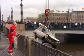 Из Обводного канала доставали машину