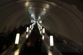 На «Московской» начинается ремонт эскалатора