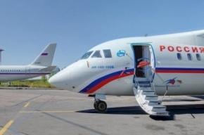 Самолет Симферополь-Петербург сел из-за птицы