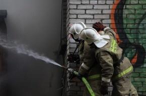 На Мориса Тореза пожар: есть угроза взрыва