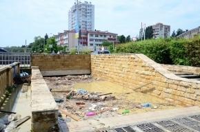 Будущую столицу Олимпиады залило водой