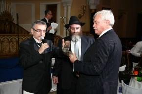 Губернатор Петербурга посетил синагогу