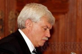 Полтавченко пообещал городу урны и политехнический музей