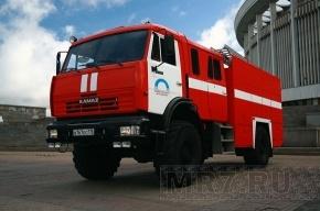 Пожар на заводе в Московском районе удалось локализовать