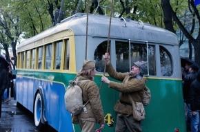 В Петербурге прошел парад троллейбусов (фото)