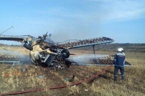 На Кубани упал самолет Ан-2