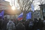 Вчера в Петербурге прошел митинг «За честные выборы»: Фоторепортаж