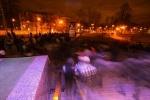 Курбан-байрам в Петербурге: пять тысяч мусульман собрались помолиться на «Горьковской»: Фоторепортаж