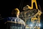 Со дна Невы подняли танк (фоторепортаж): Фоторепортаж