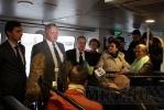 Фоторепортаж: «Новый петербургский аквабус довезет до Зеленогорска»
