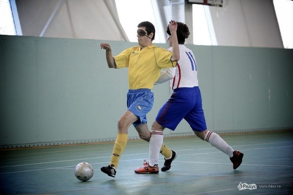 Турнир по футболу слепых: фоторепортаж: Фото