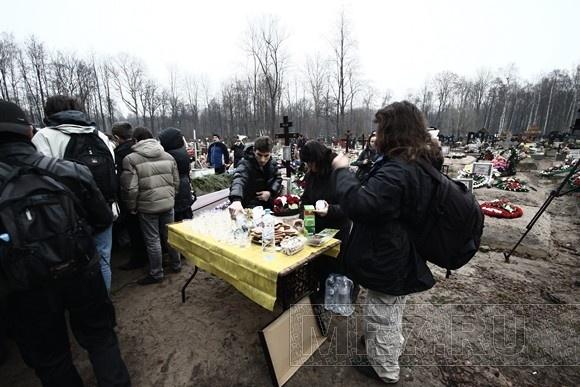 Петербург простился с MC Вспышкиным (фоторепортаж): Фото