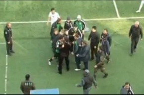 Опубликовано видео избиения Спартака Гогниева