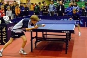 Детский турнир по настольному теннису пройдет в Петербурге