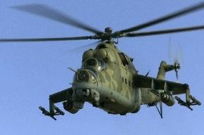 В Беларуси разбился военный вертолет