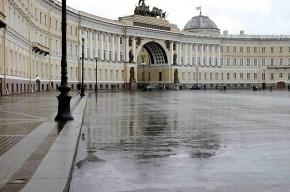 На Дворцовой прошел массовый флэшмоб