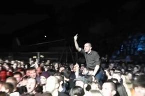 Освистание Дмитрия Козака в Петербурге: видео