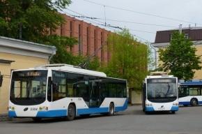 Петербургские троллейбусы ездят без проводов