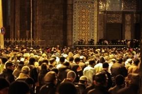 На намаз в Московской соборной мечети пришли 80 тысяч человек