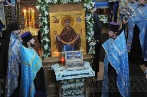 Пояс Богородицы покинул территорию России