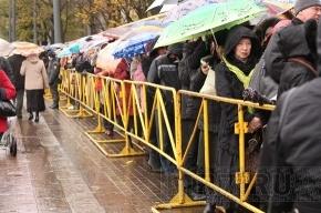 Ксения Собчак показала московский VIP-пропуск к поясу Богородицы