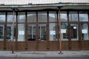 Библиотеке на проспекте Ветеранов угрожает аварийный козырек