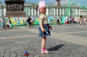 Нетрезвая мать потеряла четырехлетнего ребенка на улице
