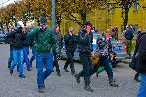 «Русский марш» в Петербурге проходит в Южно-Приморском парке