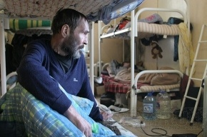 Бездомные отогреются в Адмиралтейском и Приморском районах