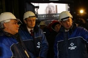 Полтавченко пожаловал на Кировский завод