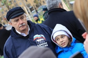 Горизбирком не углядел предвыборной агитации на куртке губернатора